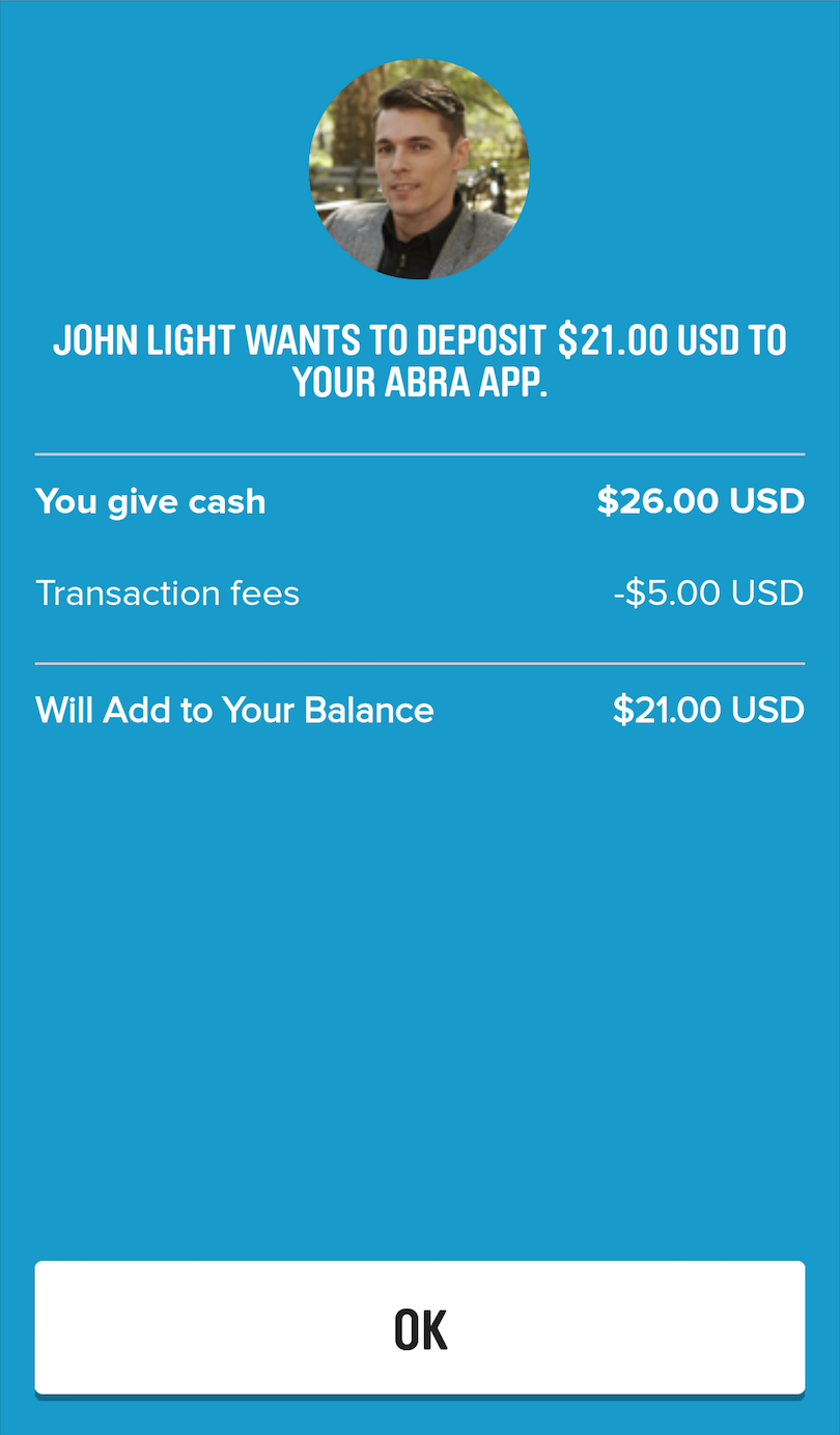 Using abra to buy bitcoin with cash abra abra teller buy bitcoin with cash btc xbt confirmation screen ccuart Images