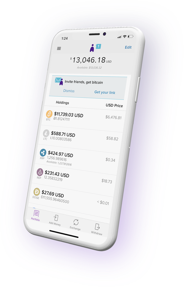 Mobile Bitcoin Wallet App - BTC & Cryptocurrency Wallet App | Abra